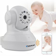 Retail Vstarcam C7837Wip P2P Hd 720P Wireless Wifi Ip Camera Night Vision Two Way Voice Network Indoor Cctv Onvif Multi Stream Baby Monitor Mobile Phone Remote Monitoring White Intl