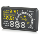 Where To Shop For W02 Hud Head Up Display System With Speedometer Black