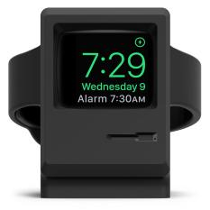 Buy Elago W3 Stand For Apple Watch Supports Nightstand Mode Black Online Singapore