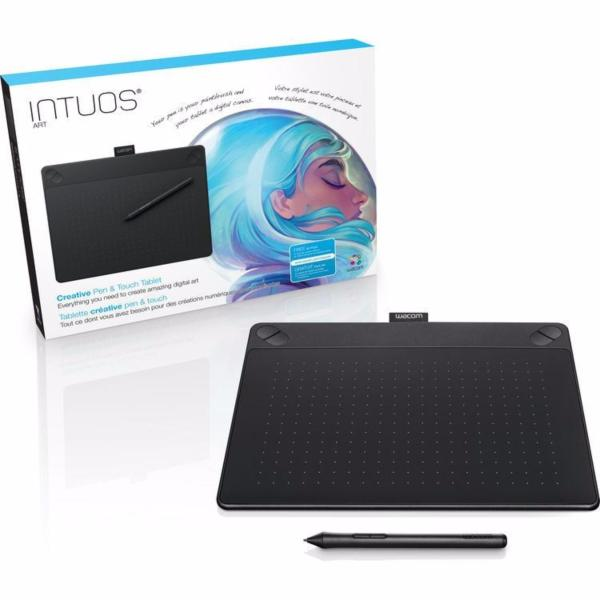 WACOM Intuos Art Creative Pen and Touch Tablet CTH-690 - ( BLACK ) (Medium)