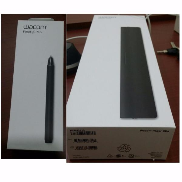 Wacom Intuos Pro Finetip Pen & Paper Clip Bundle