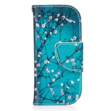 Wallet Case For Nokia 3310 2017 Pu Leather Flip Cover Case Plum Design With Kickstand Folio Case Intl Cheap