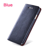 Wallet Flip Style Retro Leather Card Holder Protective Cover Case For Apple Iphone 7 Plus 5 5Inch Blue Intl Xhleia Cheap On China