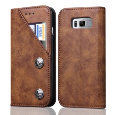 Wallet Phone Case With Card Slots Flip Cover For Samsung Galaxy Note 8 Intl On Line