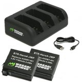 Purchase Wasabi Power Battery Set For Gopro Hero 4
