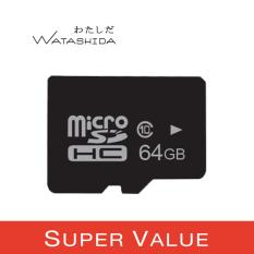 Lowest Price Watashida 64Gb Microsd Card High Speed Class 10 Sdhc Flash Memory Tf Card Oem Value Pack