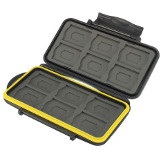 For Sale Water Resistant Shockproof 12 Sd 12 Micro Sd Tf Cards Storage Memory Card Case Intl