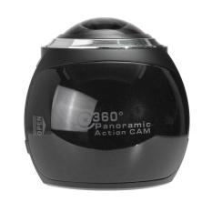 Waterproof 360° Panoramic Wifi 4K Ultra Hd Vr Action Camera Sport Dv Camcorder Black Intl In Stock