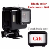 Best Deal Waterproof 40M Diving Housing Case Cover Protector For Gopro Hero 5 Camera Black Intl