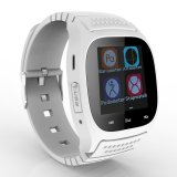 Low Cost Waterproof Bluetooth Smart Wrist Watch Phone Mate For Ios Android White