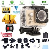 Low Cost Waterproof Camera Sj9000 Wifi 4K 30Fps Waterproof Camcorder Action Sports Camera With Remote Control And Accessories Intl