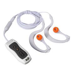 Price Waterproof Mp3 Music Player Sport Swim Fm Radio Earphone 8Gb White Singapore