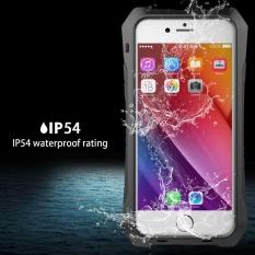 Sale Waterproof Shockproof Aluminum Glass Flim Metal Case For Iphone 6 6S 4 7Inch Intl Oem