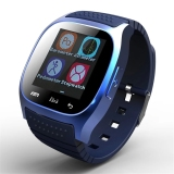 Sale Waterproof Smart Watch M26 Woman Men Bluetooth Smartwatch Sync Phone Call Pedometer Anti Lost For Android Smartphone Blue Oem