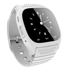 Waterproof Smart Watch M26 Woman Men Bluetooth Smartwatch Sync Phone Call Pedometer Anti Lost For Android Smartphone White Lower Price