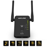 Compare Price Wavlink N300 Wireless Repeater Universal Range Extender And Wireless Router With 2 External Antennas Wps Button Supports Ap Router Repeater Mode Black Intl On China