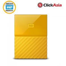 Sale Wd My Passport 4Tb Portable Hard Drive Yellow Wdbyft0040Byl Online Singapore