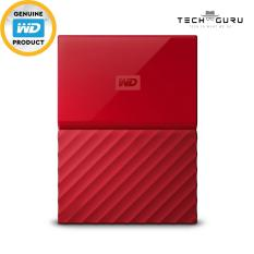Buy Wd My Passport Portable Storage 2Tb Red Wd Cheap