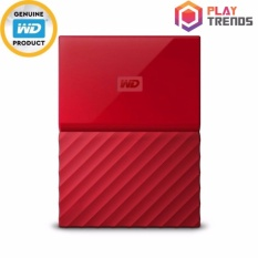 Sale Wd My Passport Portable Storage Red 1Tb 2Tb 4Tb Wd Wholesaler