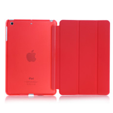 Discount Welink 2 In 1 Ipad Air Ipad 5 Case Tempered Glass Ultra Slim Smart Cover Pu Leather Case For Apple Ipad Air Ipad 5 Case Red Export Intl Welink