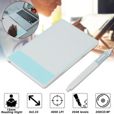 White 420-w Stylus Digital Drawing Pen Graphics Tablet Signature Pad Huion 680S 420 H420 - intl