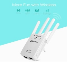 Brand New Wifi Repeater Router Access Point Wireless 1200Mbps Range Extender Wi Fi Signal Amplifier 4 External Antennas Intl