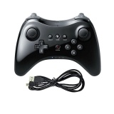 Wii Classic Controller Wii U Pro Black Usb Chargeable Game Controller Cordless Intl For Sale Online