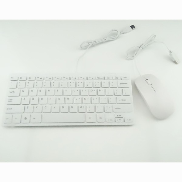 Wired Mini Mouse and Keyboard Sets of Ultra-thin Small Keyboard Set - intl Singapore