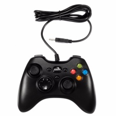 Wired USB Game Controller Gamepad Joypad Resembles XBOX360 For PC Computer Black - intl