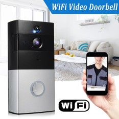 Wireless Battery Wifi H 264 Video Doorbell Two Way Home Security Night Vision Intl Cheap