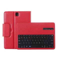 Sales Price Wireless Bluetooth Keyboard Protective Case Magnetism Absorption Function Detached Cover Tablet Bracket For 9 7Inch Samsung Galaxy Tab S3 Sm T820 Sm T825 Model Red Intl