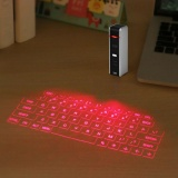 How To Buy Wireless Bluetooth Laser Virtual Projection Keyboard Touchpad Mouse For Tablet Smartphone Intl