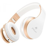 Sale Wireless Headphones Over Ear Picun Bluetooth Stereo Headphones With Volume Control Built In Mic And Cvc 6 Noise Cancelling Lightweight Foldable Headset And Wired Mode For Kids Women White Gold Intl South Korea Cheap