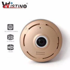 Wistino 960P Wifi Ip Security Camera 360 Degree Mini Portable Indoor Camera With Ir Night Vision 2 Way Audio Motion Detection Loop Recording For Sale