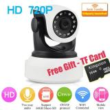 With Free 16G Tf Card 720P Ip Camera Wireless Wifi Cctv Camera Hd Indoor Pan Tilt Ir Cut Night Vision Support 64G Sd Card Intl Discount Code