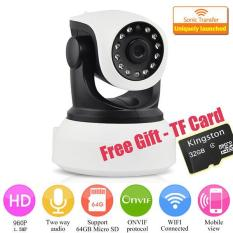 Cheapest With Free 32G Tf Card 960P Ip Camera Wireless Wifi Cctv Camera Hd Indoor Pan Tilt Ir Cut Night Vision Support 64G Sd Card Intl