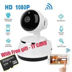 Low Price With Free 32G Tf Card Wireless Home Security Wifi Usb Baby Monitor Alarm Ip Camera Hd 1080P Audio Infrarde Hd Night Vision Intl