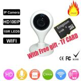 With Free 64G Tf Card 1080P Hd P2P H 365 Onvif Video Ip Camera Wifi Wireless Night Vision Network Security Cctv Family Defender Intl On China
