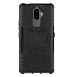Best With Tempered Glass Screen Protector Rugged Rubber Hybrid Tpu Pc Armor Case For Lenovo K8 Note Black Intl
