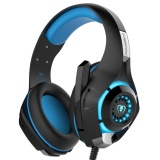 Purchase Womdee Gm 1 3 5Mm Gaming Headset Led Light Over Ear Headphones With Volume Control Microphone For Pc Xbox One Laptop Tablet Playstation 4 Blue Black Intl Online