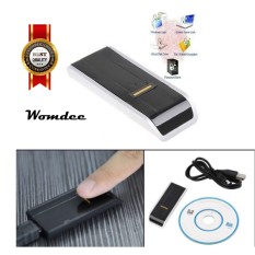 Womdee Mini Biometric USB Fingerprint Reader Security Computer Password Lock For PC Rp2 (Color: Black) - intl