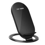Buying Wond N900 Wireless Fast Charger Stand Holder With Led Indicator Light 2 Coils Black Intl