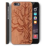 Wooden Case For Apple Iphone 5 5S Se 4 Inch Wood Smartphone Case Yuanqian Unique Handmade Natural Solid Wood Engraving Wave Case Wood Wave Dead Tree Intl Free Shipping