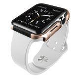 X Doria 42Mm Apple Watch Case Defense Edge Premium Aluminum And Tpu Bumper Frame Gold Shop
