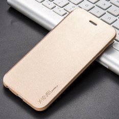 X Level Business Style Leather Flip Phone Case For Apple Iphone 6 6S Luxury Case Cover Intl Sale