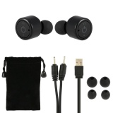Compare X1T True Wireless Bluetooth Headphone Stereo Bluetooth 4 2 Sport Headset Hands Free W Mic 8 Hours Music Time 8 Hour Talking Time Black For Running Gym Exercise Business Intl