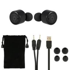 X1T True Wireless Bluetooth Headphone Stereo Bluetooth 4 2 Sport Headset Hands Free W Mic 8 Hours Music Time 8 Hour Talking Time Black For Running Gym Exercise Business Intl Compare Prices
