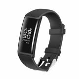 Recent X9 Bluetooth Smart Wristband Bracelet Fitness Tracker Heart Rate Pedometer Black Intl