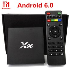 Cheap X96 Android 6 Tv Box 2G 16G Amlogic S905X Quad Core Kdi 16 1 Full Loaded 4K Wifi Hd 1080I P Smart Media Player Intl