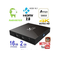 X96 Tv Box 2G 16G Android 6 Marshmallow Amlogic S905X 64Bit Quad Core Xbmc Kodi 16 1 Ultra Hd 4K 60Fps Vp9 Hdr H 265 With Wifi Dlna Streaming Media Player Smart Set Top Box Support Airfly Oem Discount